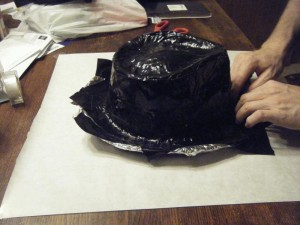 More taping the brim